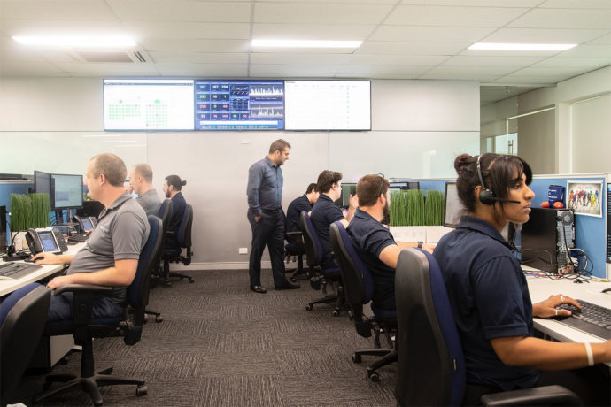 Our team working to provide the best Managed IT Services in Perth.